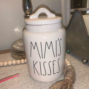 Rae Dunn Mimi's Kisses Canister